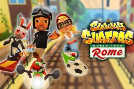 اللعبة الشهيرة Subway Surfers في اصدارها الجديد