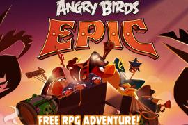 Angry Birds في جزئها الجديد Angry Birds Epic