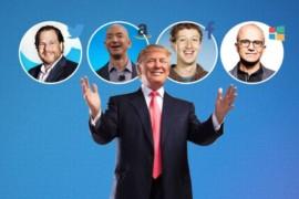 ماذا قالت الشركات التقنية بعد فوز ترامب