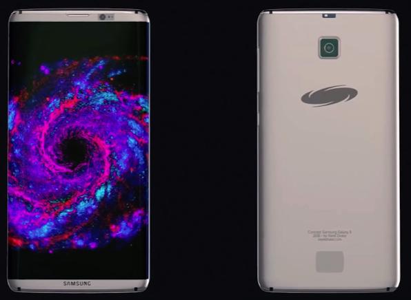 شكل متوقع ل Samsung S8
