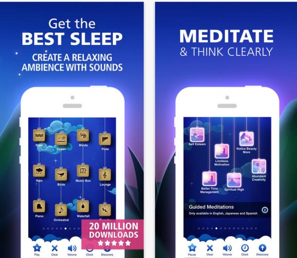 أفضل 5 تطبيقات مجانية تساعدك علي الأسترخاء و الهدوء