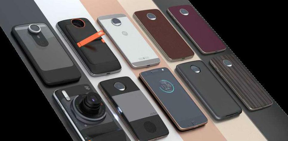 لينوفو تطلق هواتف موتورولا جديدة , اختار الأفضل لهاتفك بنفسك مع تقنية وحدات Mods الجديدة