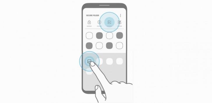 تطبيق Secure Folder القادم لهواتف Galaxy S7 يشوق للهاتف Galaxy S8