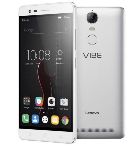 لينوفو تطرح نسخة جديدة من هاتف Vibe K5 Note بمواصفات محسنة