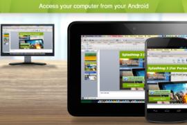 تطبيق Splashtop للوصول لسطح المكتب عن بعد عبر هاتف اندروي
