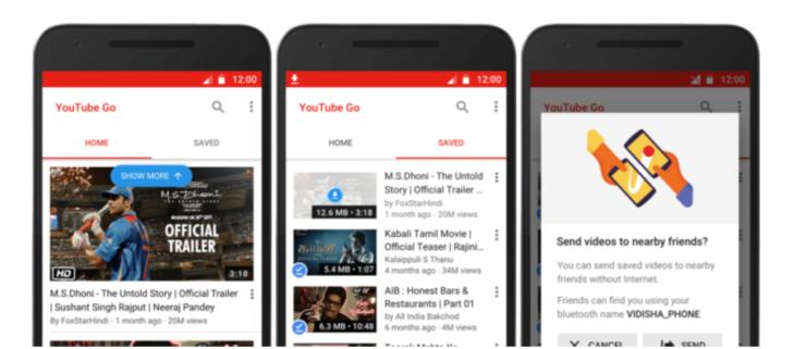 تطبيق YouTube Go لحفظ فيديوهات يوتيوب وتوفير البيانات تعرف عليه معنا