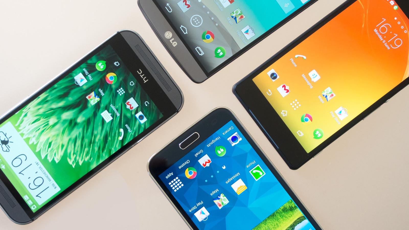 تعرف على الشركات التي تتصدر سوق الهواتف الذكية في الربع الأول 2017