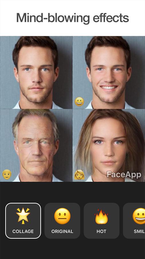 تطبيق التعديل على الوجوه عبر الذكاء الاصطناعي FaceApp متوفر الآن على أندرويد