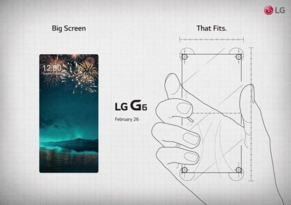 إل جي تنشر صور جديدة لهاتفها القادم بقوة LG G6 تعرف علي الموصفات