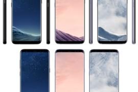 تسريبات جديدة تؤكد لنا قدوم الهاتف الجديد من سامسونج  S8 بثلاثة ألوان مختلفة