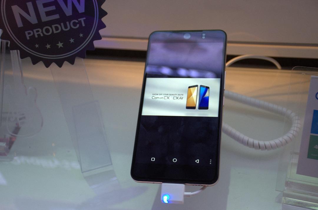 تكنو تعلن أطلاق هاتفها الجديد و المتميز Tecno Camon CX تعرف علي مواصفاته
