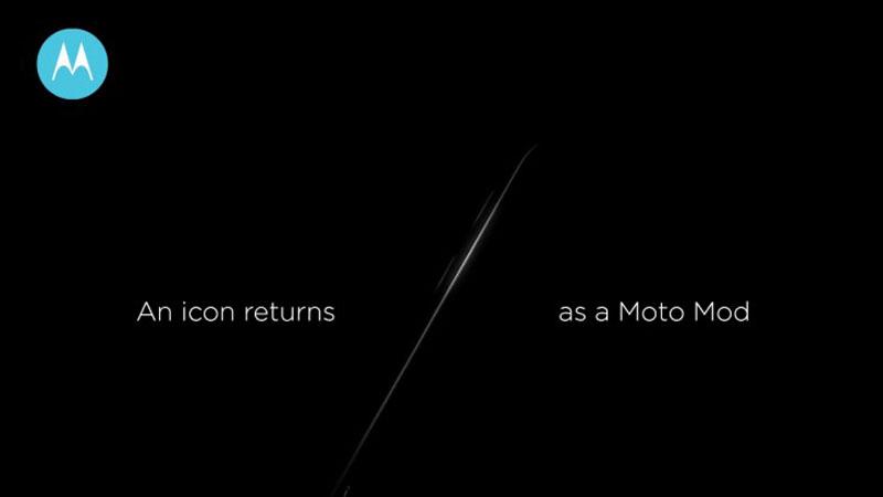 موتورولا سوف تعيد الهاتف الكلاسيكي RAZR مرة أخري علي هيئة أضافات Mods