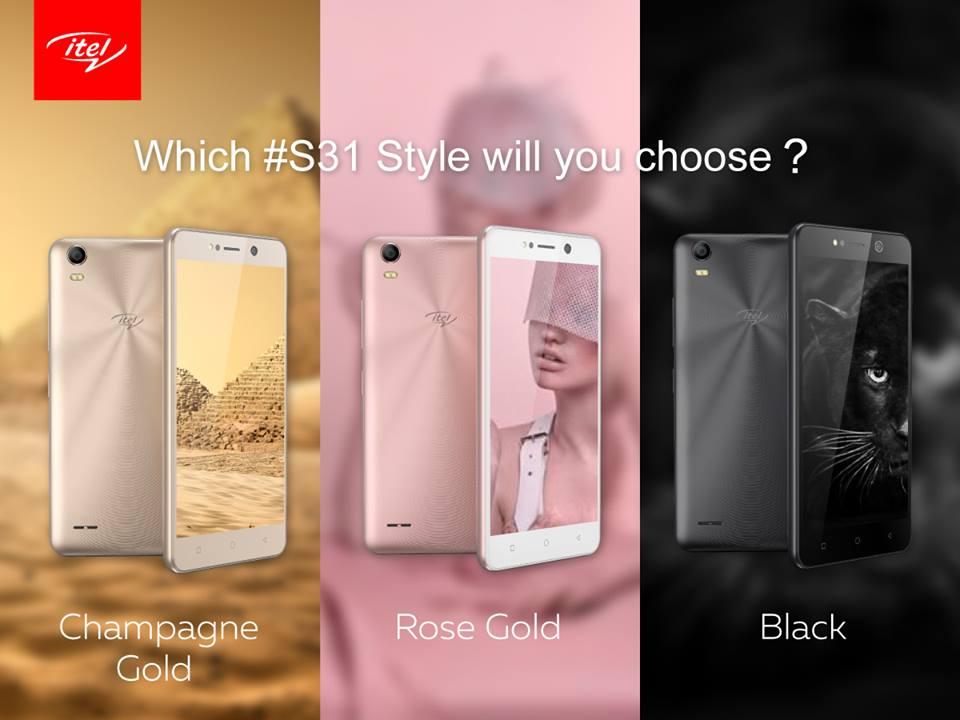 تعرف علي مواصفات itel S31 الجديد أحدي هواتف الفئة المتوسطة