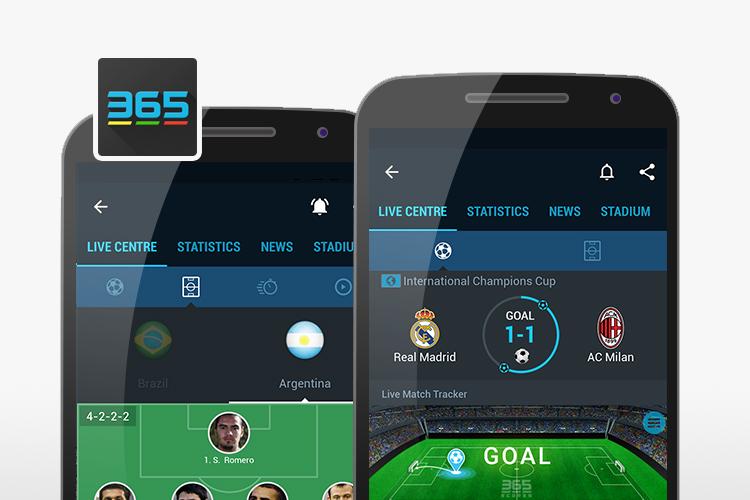 تطبيقات متابعة نتائج ومواعيد مباريات كرة القدم