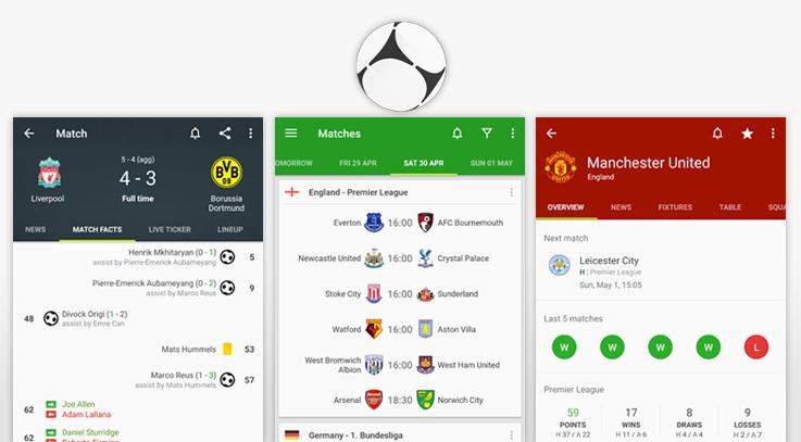 تطبيقات كرة القدم