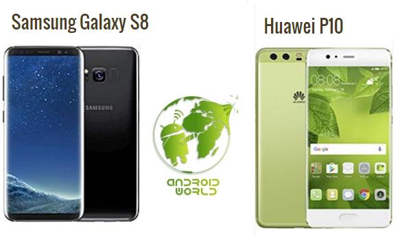 مقارنة بين أفضل كاميرات الهواتف في السوق Samsung S8 و Huawei P10 Plus