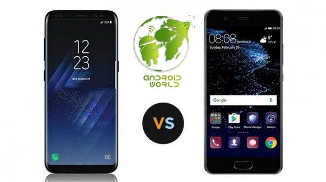 مقارنة بين هاتفي سامسونج S8 و هواوي P10