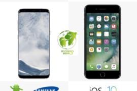 11 سبب تجعل التفوق لهاتف سامسونج جلاكسي S8 على هاتف آيفون 7