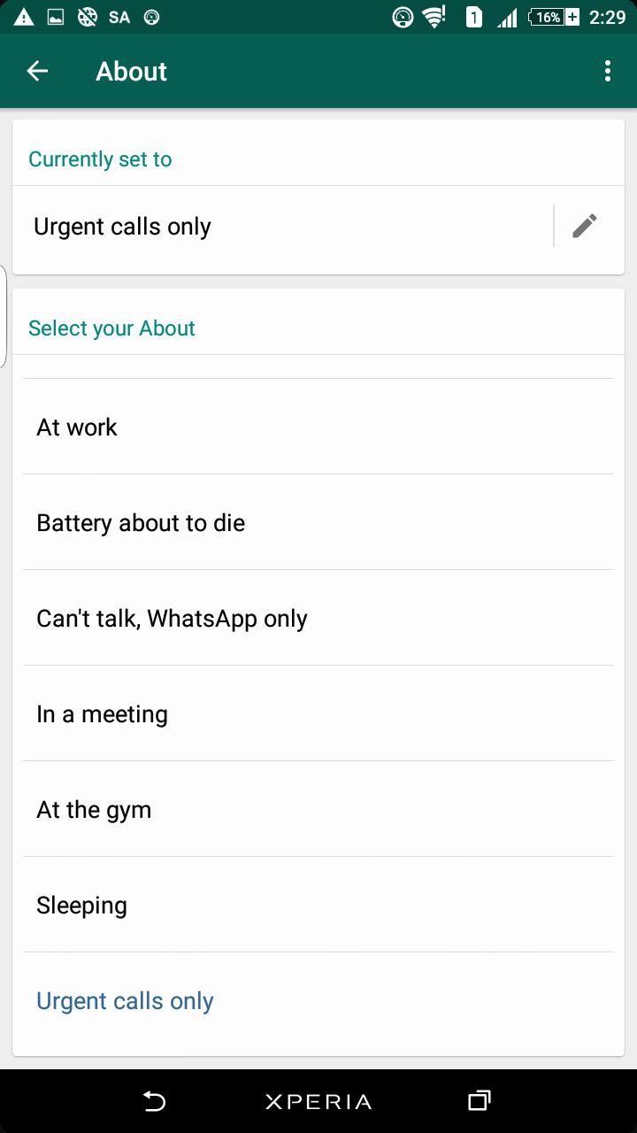 أبرز التحديثات الخاصة بـ تطبيق WhatsApp في عام 2017