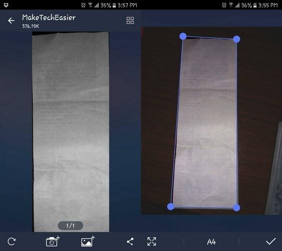 أفضل تطبيقات تصوير الملفات Scanner للأندرويد