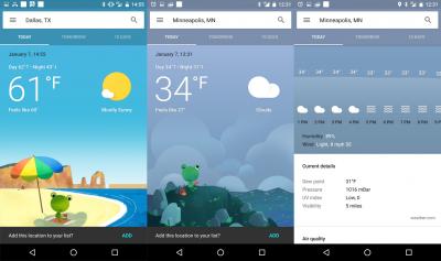 أفضل تطبيقات الطقس و متابعة الأحوال الجوية للأندرويد