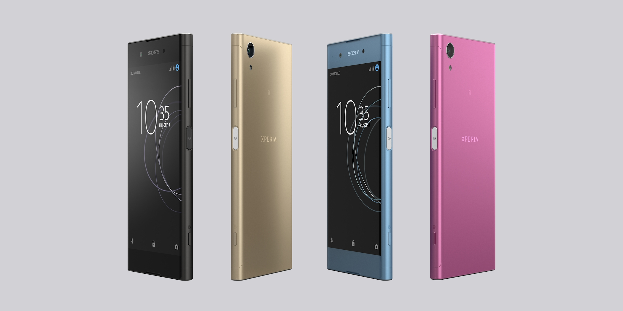 سوني تكشف عن هاتف Xperia XA1 Plus في معرض IFA 2017 بإمكانيات متوسطة