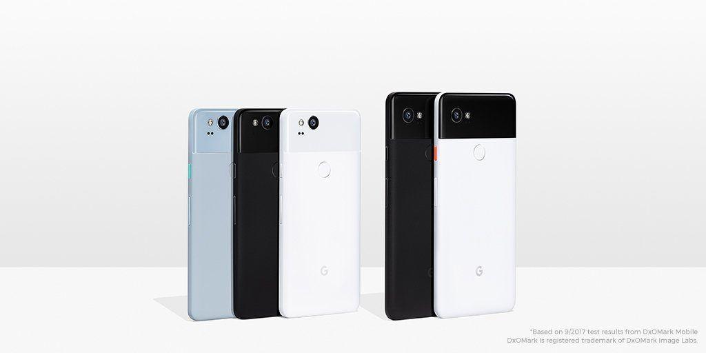 مميزات ومواصفات هواتف جوجل Pixel 2 و Pixel 2 XL