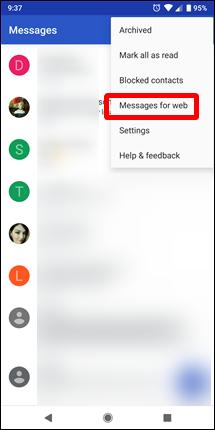 كيفية إرسال رسائل SMS من موبايلك باستخدام الكمبيوتر عن طريق تطبيق Android Messages