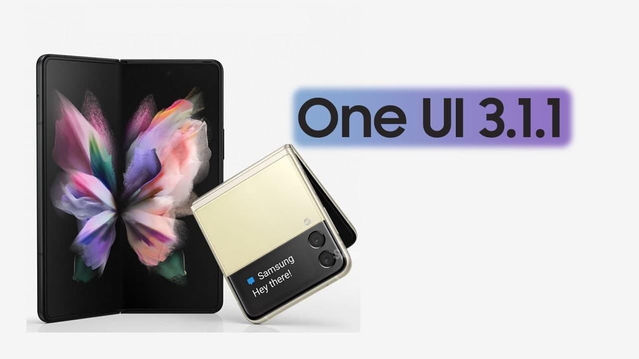 الهواتف المؤهلة للحصول علي واجهة سامسونج One UI 3.1.1